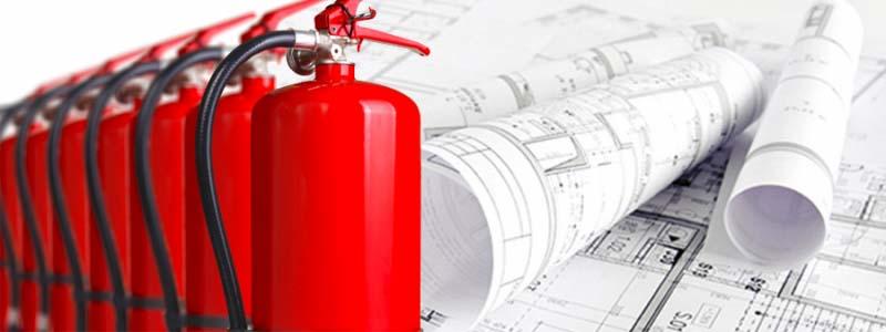 Execução de projeto contra incêndio