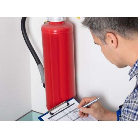 Recarga e manutenção de extintores