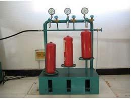 Teste hidrostático cilindro