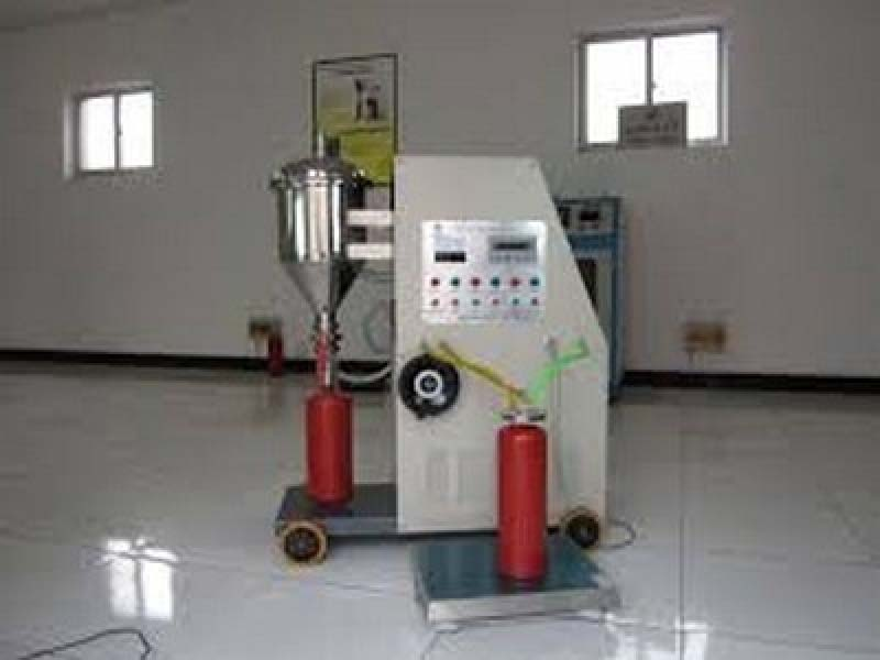 Teste hidrostático extintor