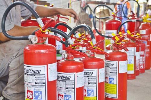 Valor de manutenção de extintores