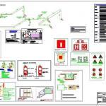 Projeto de prevenção e combate a incêndio mg