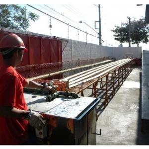 Teste hidrostático em mangueiras de incêndio