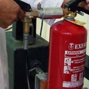 Recarga de extintores